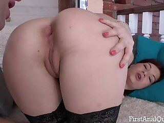 First Anal Fucking for an..