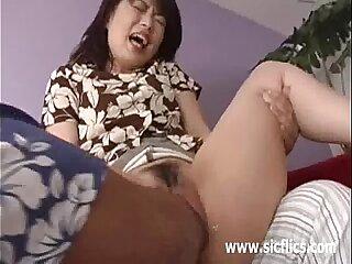 Asian girl brutally fisted..