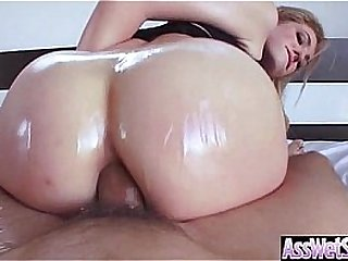(Dahlia Sky) Huge Ass Oiled..