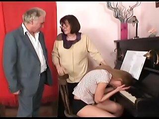 horny grandpa in a wild..