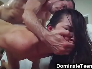 Teen Stepsis Brutally Fucked..