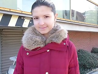 GERMAN SCOUT - Teen Gina bei..