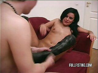 Hard And Deep Pussy Fisting..