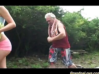 grandpa loves teen sex in..