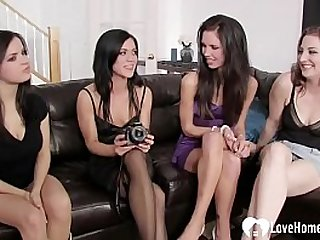 Horny lesbians have the best..
