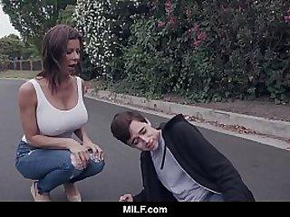 MILF - Fucking A Young Guy..