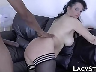 Hot mature shares dick with..