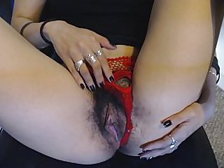 Young Wet Hairy Pussy Is..