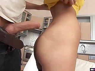 Hard anal dicking for skinny..