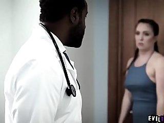 Ebony doctor exploit and ass..