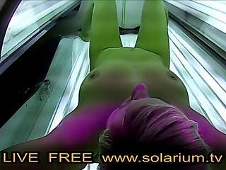 Solarium blond legal age..