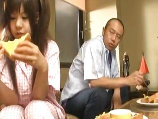 Shino Nakamura gets cum on..