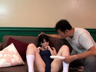 Bukkake japanese teen toyed..
