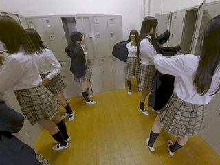 Invisible Man Invades Girls..