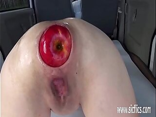 Extreme anal fisting and..