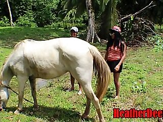 SHOCKING horse video with..