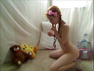 Hot Teen Redhead Dolly..