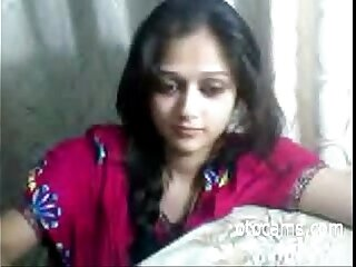 Indian teen masturbating on..