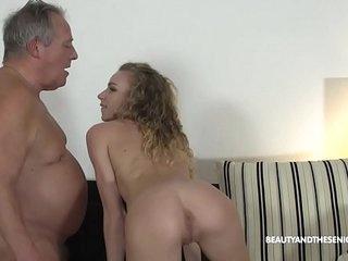 Grandpa Gives Horny Teen a..