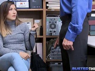 Virgin Asian Teen Shoplifter..
