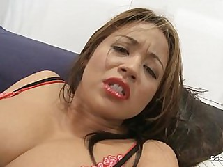BBW School Teen with Big..