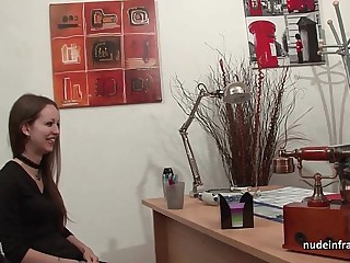 Amateur anal casting couch..